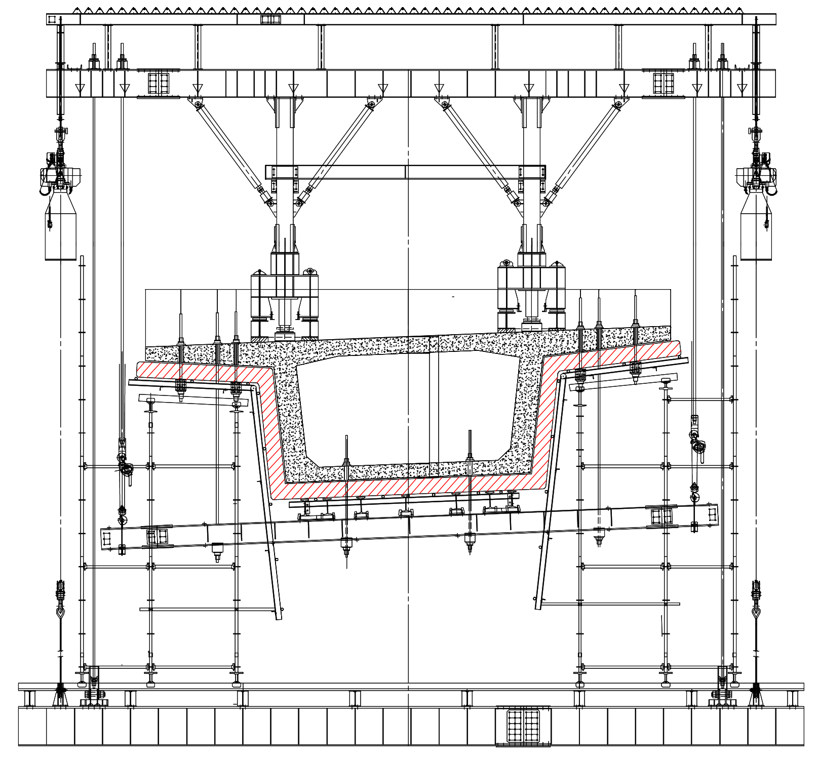 橋梁用バルーン設置図